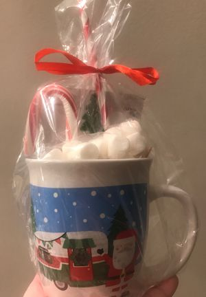 Camper w/Santa mug wrapped with goodies 🎄 for Sale in Thomasville, NC