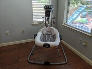 """""""Graco DuetConnect LX Multi-Direction Baby Swing and Bouncer"""" in excellent condition for Sale in Austin, TX"""