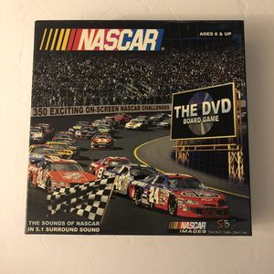 NASCAR the dvd board game for Sale in Alpharetta, GA