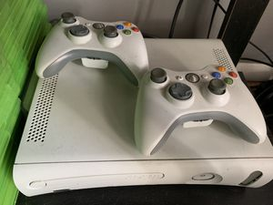 Xbox 360 Arcade 120GB + 45 games. for Sale in Fishers, IN