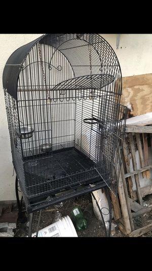 BLACK BIRD CAGE for Sale in Pasadena, CA