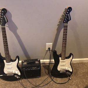 Electric Guitar (2) With Amplifier for Sale in Cumming, GA