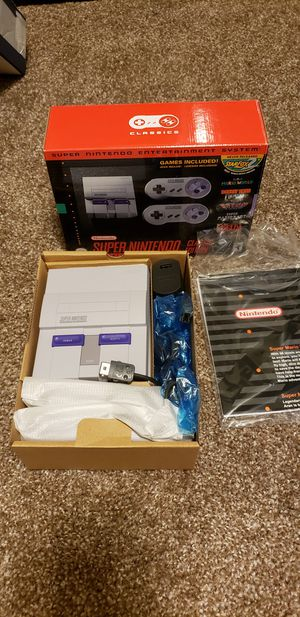 Modded Authentic Super Nintendo mini for Sale in Houston, TX