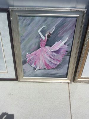 Framed acrylic by local artist for Sale in Wildomar, CA