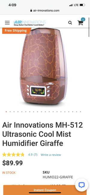 Air innovations humidifier like new $25.00 🏡🏡🏡 pet free smoke free home for Sale in Fort Worth, TX
