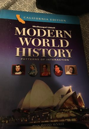 Modern World History textbook for Sale in Santa Fe Springs, CA