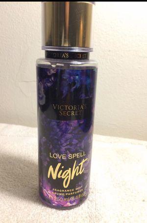 Victoria's Secret love spell fragrance mist for Sale in Gresham, OR