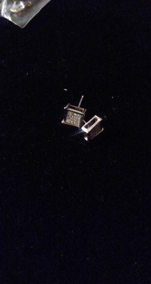 14k diamond chip earrings for Sale in Denver, CO