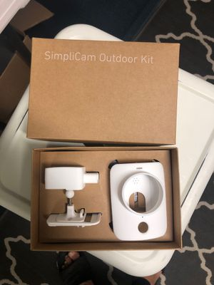 Simplisafe outdoor camera kit for Sale in Stockton, CA