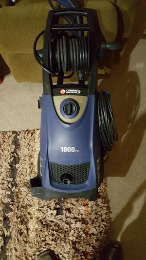Campbell Hausfeld 1800 PSI, 1.5 GPM Electric Pressure Washer PW183500AV for Sale in Leitchfield, KY