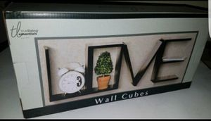 LOVE-Wall Cubes/Shelves for Sale in Saint Charles, MO
