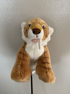 Sabertooth Tiger Golf Fairway Wood Headcover for Sale in Saint Charles, MN