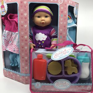 My Sweet Love Baby Doll With Feeding Play Set for Sale in Hanover, MD