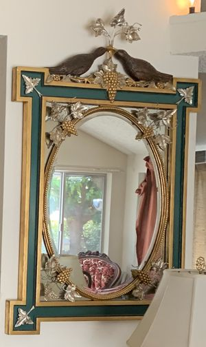 Hand Made Antique Mirror- Very Heavy!! for Sale in Concord, CA