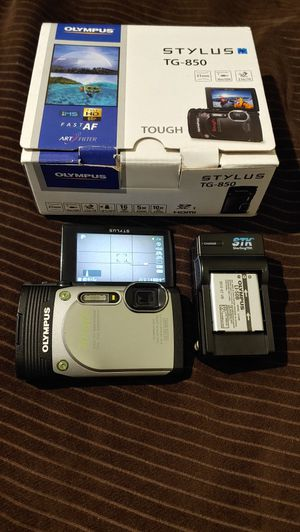 Olympus TG-850 waterproof tough digital video/vlogging camera (READ DESCRIPTION) for Sale in Corpus Christi, TX