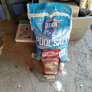 Pool Salt & Color Dye For Stucco for Sale in Bakersfield, CA