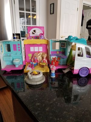 Mattel toy RV camping set for Sale in Rockville, MD