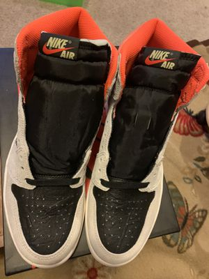 Jordan 1 Neutral Grey Crimson Nike High Size 10 DS for Sale in Chula Vista, CA