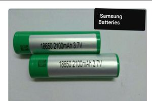 Samsung 18650 mah battery for Sale in Crewe, VA