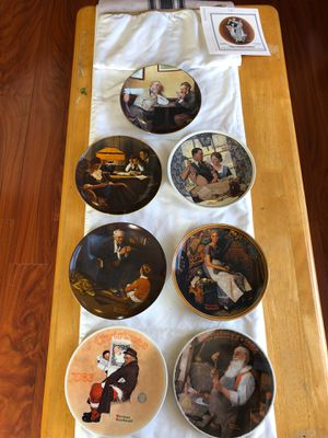 Norman Rockwell knowles limited edition collectible plates for Sale in Westminster, CO