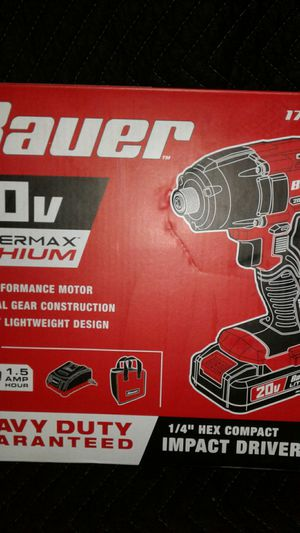 20 volt quarter inch hex compact impact driver kit for Sale in Holiday, FL