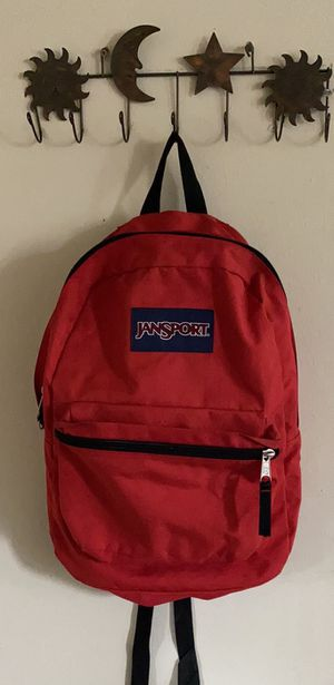 Red jansport backpack for Sale in Cypress, CA