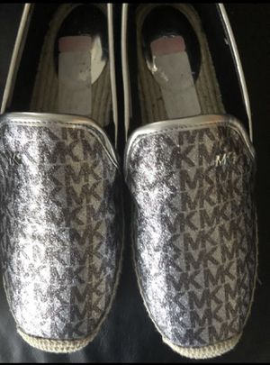 Michael Kors silver logo Espadrilles for Sale in Covington, KY