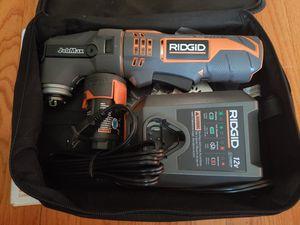 RIDGID JobMax 12-Volt Multi-Tool Starter Kit for Sale in Chicago, IL