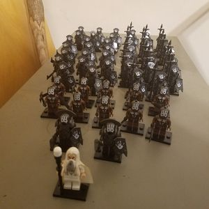 Custom lego compatible Uruk-hai army for Sale in Oxford, OH