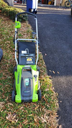 Greenhouse 10 amp electric mower free for pickup for Sale in Fairfax, VA
