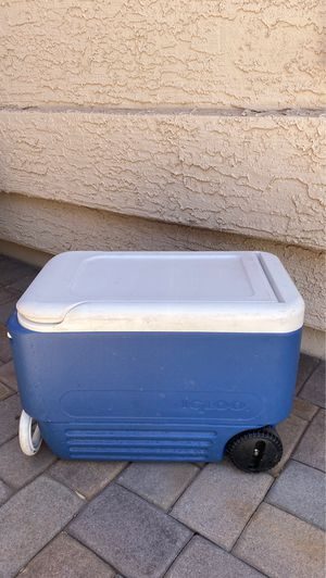 Igloo Cooler with wheels for Sale in Mesa, AZ