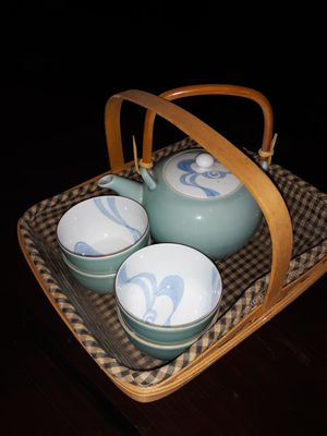 Vintage Longaberger, Costume Jewelry & Tea Pot for Sale in Camarillo, CA
