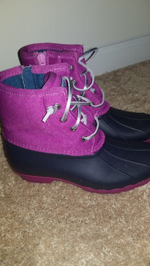 Girls Sperry Rain Boots Size 4M for Sale in Piedmont, SC