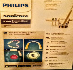 Sonicare Phillips diamond clean 9300 electronic toothbrush for Sale in Portland, OR