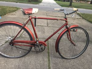 Vintage triumph Bicycle made in England good shape $225obo for Sale in Varna, IL