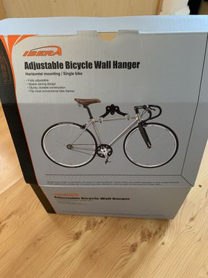 Ibera adjustable bike wall hanger for Sale in Santa Cruz, CA