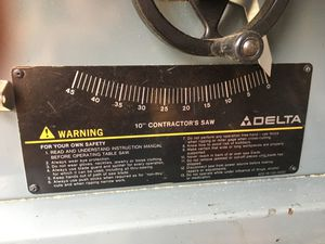 Delta table saw for Sale in Morrison, CO