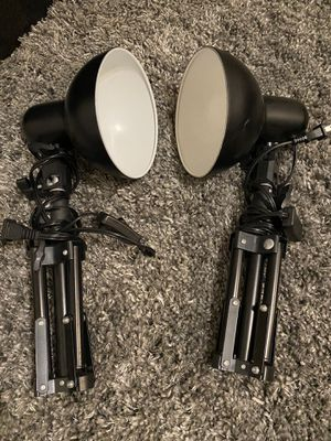 Photography small lights with stand for Sale in Miami, FL