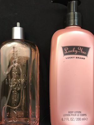 Lucky Brand Perfume and lotion for sale for Sale in Bartow, FL