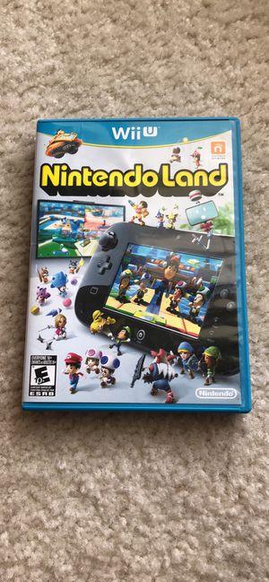 Wii U Nintendo Land for Sale in Mansfield, TX