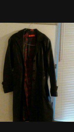Women's Novin Leather Long Coat for Sale in Nashville,  TN