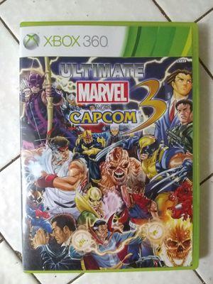 Ultimate Marvel Vs Capcom 3 Xbox 360 for Sale in Fresno, CA