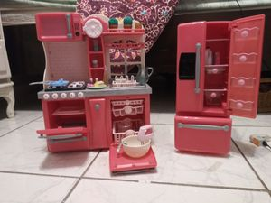 Next generation/American girl doll gourmet deluxe kitchen.. Daughter used once for Sale in Largo, FL