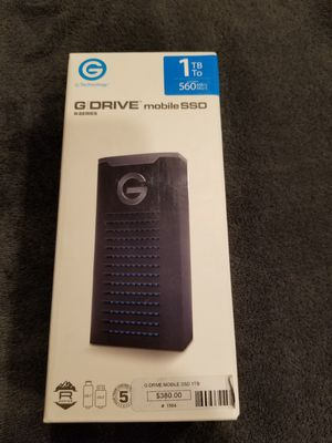 G DRIVE BRAND NEW SEAL BOX for Sale in Chicago, IL