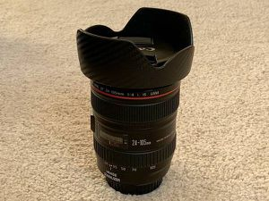 Canon EF 24-105mm f/4L IS USM Lens for Canon Digital SLR Cameras for Sale in Newcastle, WA