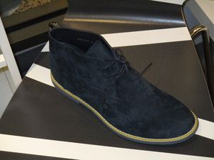 Navy blue suede shoe boot for Sale in Philadelphia, PA