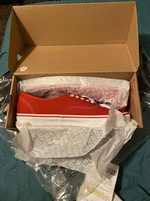 Brand New Authentic Vans Size 12.0 for Sale in Fresno, CA
