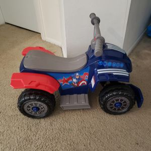 Captain America Quad Ride On Toy for Sale in Brandon, FL