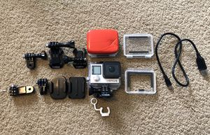 GoPro 4 silver and mounts for Sale in Winter Garden, FL