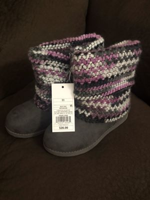 Cat & Jack winter boots little girls size 11 for Sale in Glendora, CA